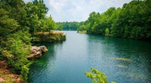 This Hidden Quarry In Ohio Has Some Of The Bluest Water In The State