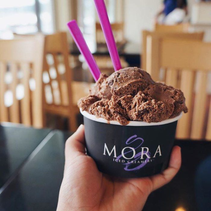 omore ice cream Ice-cream is a very popular dessert among children as well as adults but consumption pattern among kids needs a proper overhaul, as it has to do a great deal with their nutrition and development, especially those who are under the age of 12.