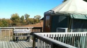 This Kansas Park Has A Yurt Village That's Absolutely To Die For