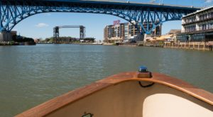 A Ride On Cleveland's Very Own Water Taxi Will Show You The City Like Never Before