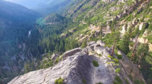 A Drone Flew Over The Sierra Nevada In Northern California And Captured Mesmerizing Footage