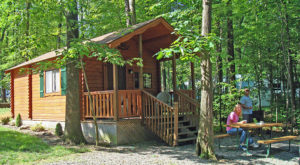 7 Campgrounds Near Pittsburgh Perfect For Those Who Hate Camping