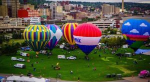 Spend The Day At This Hot Air Balloon Festival In Minnesota For A Uniquely Colorful Experience