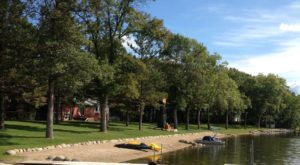 The One Amazing Place In Minnesota Where You Can Camp Right On The Lake