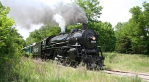 Ride The Rails Through Kansas' Countryside On This Historic Train