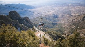 Experience Infinite Views Aboard This Breathtaking Tram In New Mexico