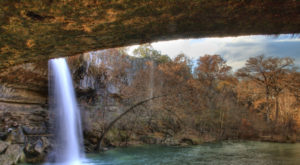 You'll Want To Spend All Day At This Waterfall-Fed Pool In Texas