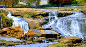 Discover One Of South Carolina's Most Majestic Waterfalls – No Hiking Necessary