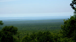 Take An Unforgettable Drive To The Top Of Michigan's Highest Mountain