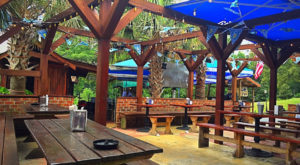 The Outdoor Beer Garden In South Carolina That's Located In The Most Unforgettable Setting