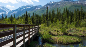 9 Out-of-This World Hikes In Alaska That Lead To Fairytale Foot Bridges