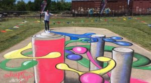 This Whimsical Chalk Art Festival In Illinois Is Unlike Any Other