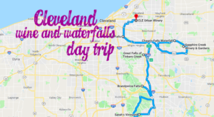 This Day Trip Will Take You To The Best Wine And Waterfalls Near Cleveland
