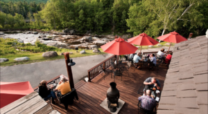 Dine Right On The River At This Old-Fashioned New York Pub In The Mountains