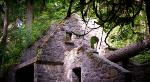 This Hike Leads You To The Creepiest Stone Ruins In Oregon