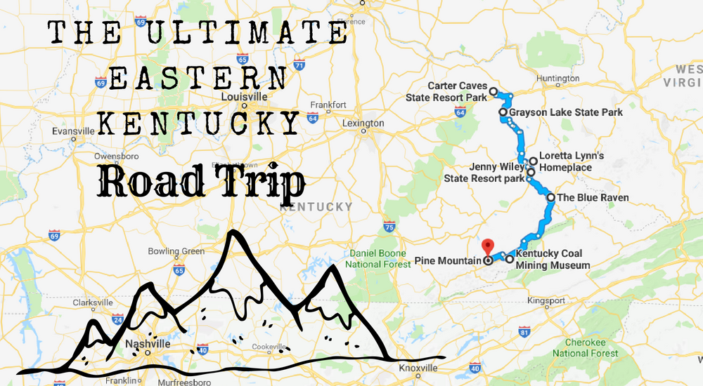 The Eastern Kentucky Road Trip Everyone Should Take on kentucky on us map, kentucky county map, eastern ct state map, eastern ny state map, north ky map, kentucky tourism map, eastern wa state map, kentucky united states map, eastern florida state map, eastern ky counties and cities maps, eastern washington state map, south central ky map, delineation of east of central florida cities map, eastern new york state map, eastern ky road map,