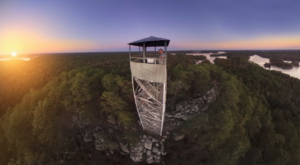 The Incredible Fire Tower Hike That Will Give You Unparalleled Views Of Alabama