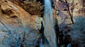 Your Kids Will Love This Easy 1-Mile Waterfall Hike Right Here In Nevada
