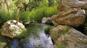 This 4-Mile Hike In New Mexico Leads To The Dreamiest Swimming Hole
