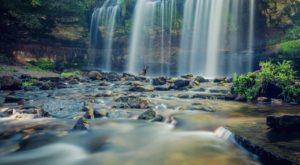 Discover One Of Wisconsin's Most Majestic Waterfalls – No Hiking Necessary