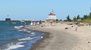 Sink Your Toes In The Sand At The Longest Beach In Ohio
