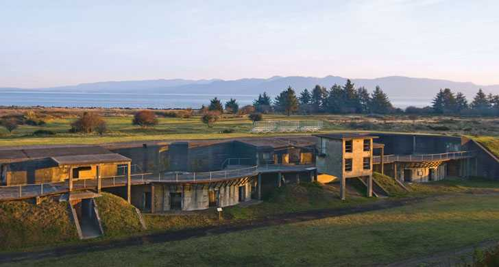 Fort Stevens State Park In Astoria Oregon Has A Historic ...