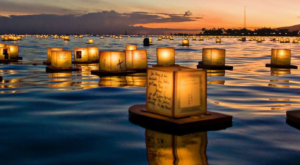 The Water Lantern Festival In Maryland That's A Night Of Pure Magic