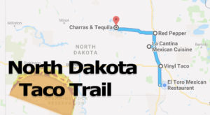 Your Tastebuds Will Go Crazy For This Amazing Taco Trail In North Dakota