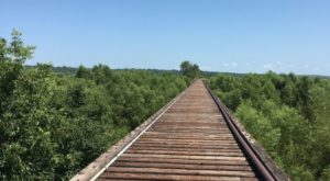 Follow This Abandoned Railroad Trail For One Of The Most Unique Hikes In Oklahoma