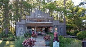 Enjoy Fresh Peaches At This Charming Winery And Orchard In Texas
