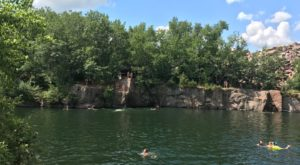 This Secluded Quarry In Minnesota Might Just Be Your New Favorite Swimming Spot