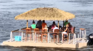 A Trip To This Floating Tiki Bar In Maryland Is The Ultimate Way To Spend A Summer's Day