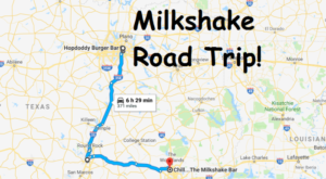 Follow This Texas Milkshake Trail For The Ultimate Summer Day Trip