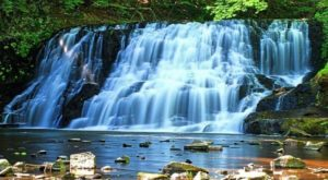 Discover One Of Connecticut's Most Majestic Waterfalls – No Hiking Necessary