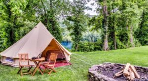 10 Campgrounds In Pennsylvania Perfect For Those Who Hate Camping