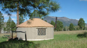 This Arizona Park Has A Yurt Village That's Absolutely To Die For