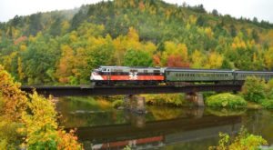 The Spectacular Fall Foliage Train Ride In Connecticut You Don't Want To Miss