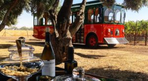 The Charming Trolley Tour That Takes You To Some of The Best Wineries In Northern California