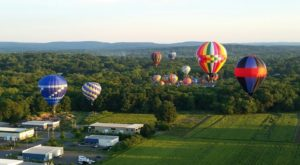 Spend The Day At This Hot Air Balloon Festival In Connecticut For A Uniquely Colorful Experience