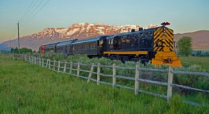 Ride The Rails Through Utah's Countryside On This Historic Train
