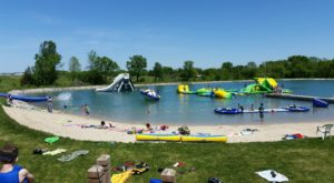 This Floating Wisconsin Waterpark Offers The Best Adventure Of the Summer