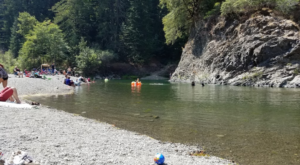 This Hidden Swimming Spot Among The Redwoods In Northern California Is Heaven On Earth