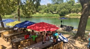 The Waterfront Restaurant Near Austin With The Most Delicious BBQ Around