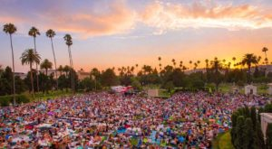 This Southern California Cemetery Is Now An Outdoor Movie Theatre And You Must See It To Believe It