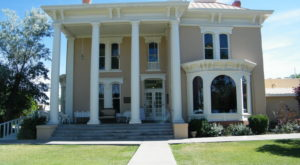 Dine Inside This Old Mansion For A True New Mexico Experience
