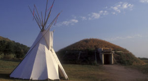 Spend The Night Under A Tipi At This Unique North Dakota Campground