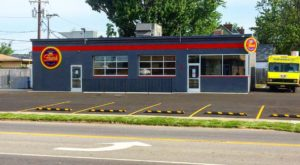You'll Love The Buffalo Style Hot Dogs At This Converted Gas Station