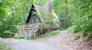 This Wooded Cabin Getaway In Virginia Is Like Something From A Fairytale