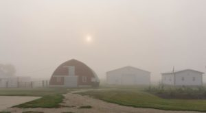 Wildfire Smoke Is Turning North Dakota's Skies Into A Dark Haze And These Photos Prove Just How Bad It Is