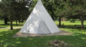 You Can Stay In A Traditional Native American Teepee At This Unique West Virginia Campground